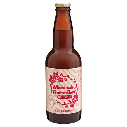 福島路ビール 桃のラガー330ml